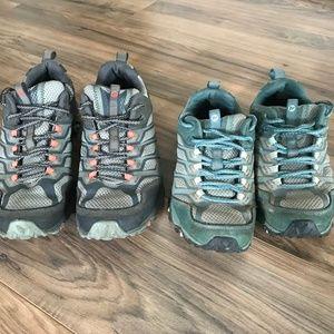 Merrell Moab Hiking Shoes Womens Size 6 (Moab FST)